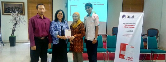 Launcing Buku My Career Is Multy-Career