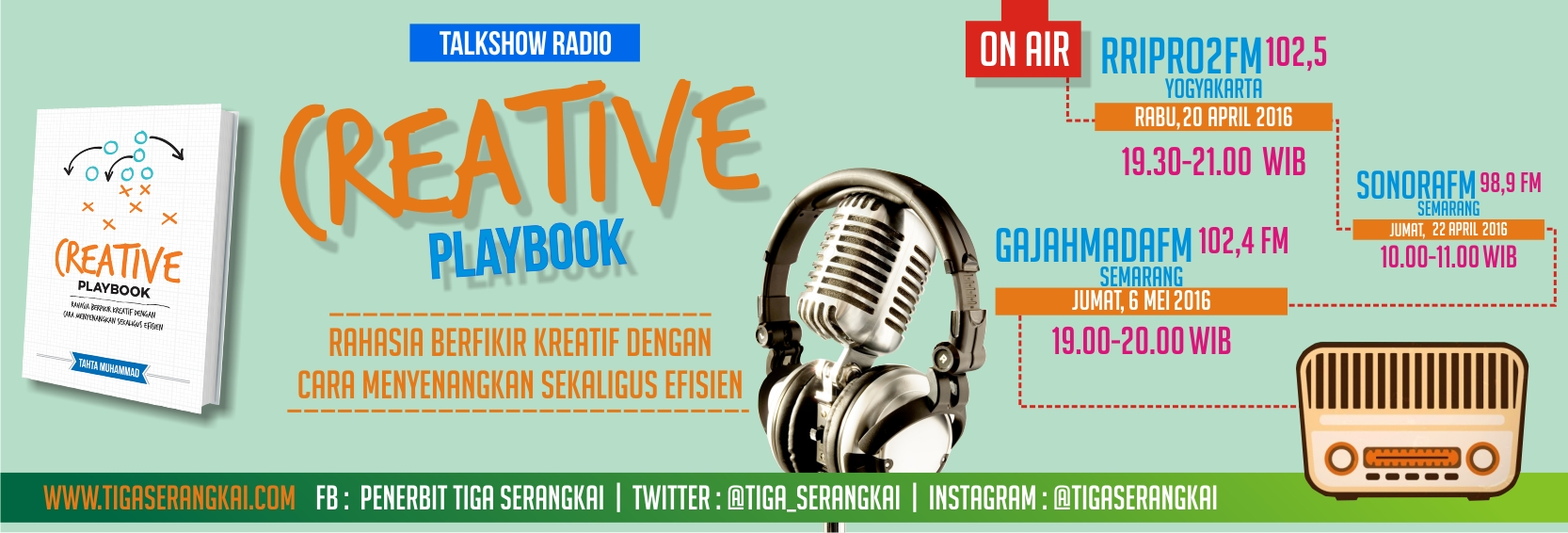 Creative Playbook Banner Radio